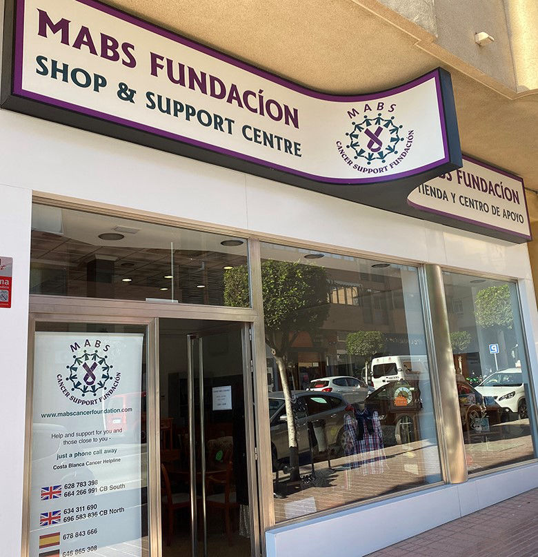 MABS Cancer Support Foundation and Charity Shops