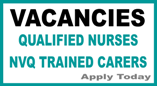 We currently have job vacancies for professional qualified Nurses and NVQ trained professional community carers in the North and South Costa Blanca area. Please apply today for immediate start.